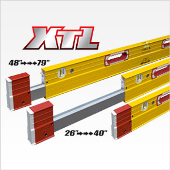 "Stabila 48""-79"" Type XTL Exact Length Plate Level (35479)"