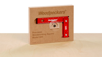 Woodpeckers | Model 641 (150mm) Precision Woodworking Square (Metric Scale) (641M)