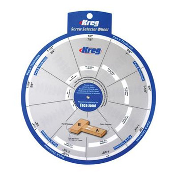 Kreg Screw Selector Wheel (SSW)
