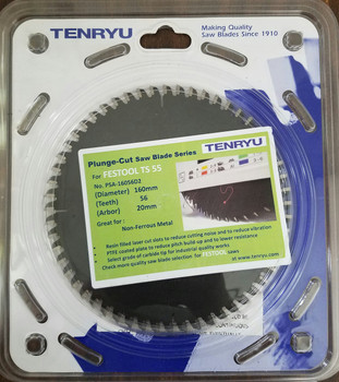 Tenryu PSA-16056D2 Aluminium (Fits Festool TS 55 Festool #496307)