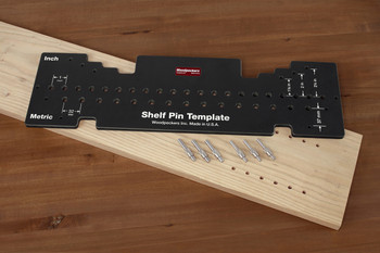 Woodpeckers | Combo Shelf Pin Template (SPT-COMBO)