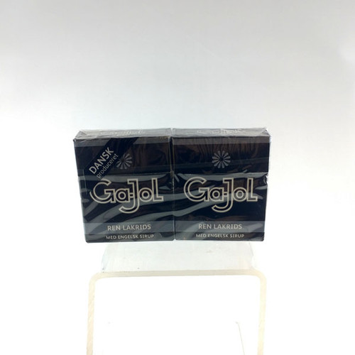 Gajol Black Licorice Pastillles 2 Packages