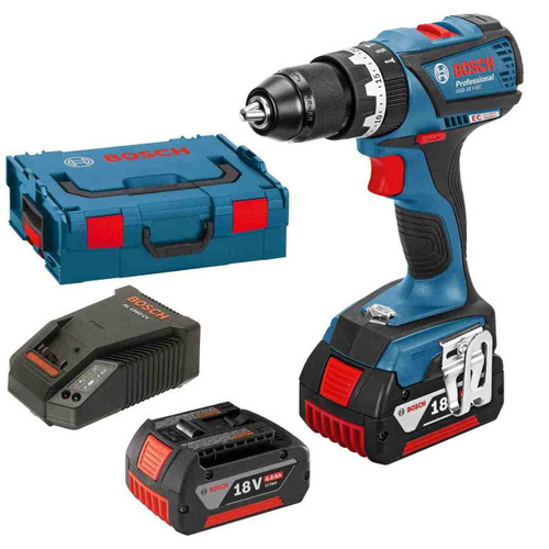 Bosch GSB 18 V-EC Professional Cordless Combi with Extra Battery and Charger