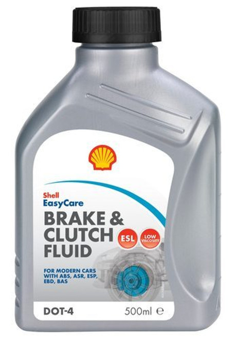 Shell Dot 4 Brake & Clutch Fluid  500ml