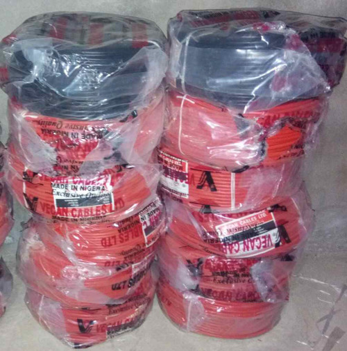Vecan electrical Cable 10mm Single Core (copper)