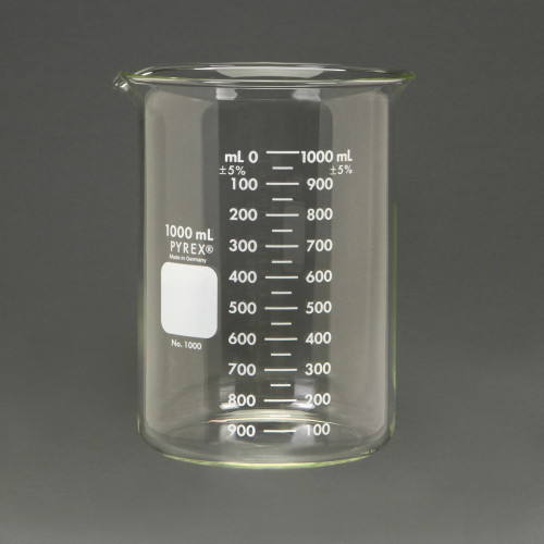 Beaker 1000ml - Pyrex
