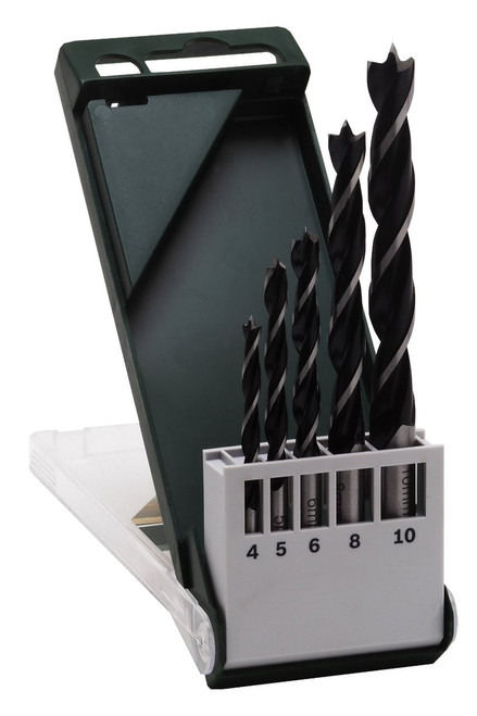 Bosch  Brad Point Drill Bit Set (5 Pieces)