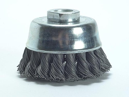 Wire cup brush 100mm, 0.5mm, 8500u/min 14.