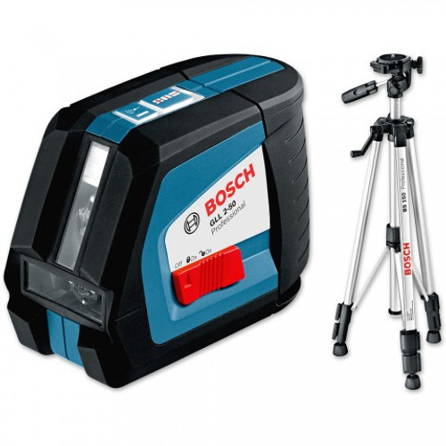 Buy Bosch GLL2-50 BS150 Laser Level plus Tripod online at GZ Industrial supplies Nigeria.