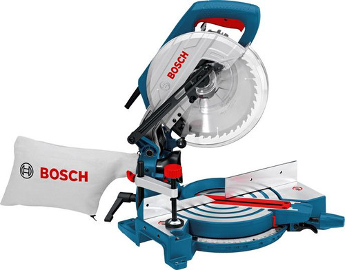 Bosch GCM 10 J professional mitre saw. The most important data Saw blade diameter 	254 mm Mitre setting 	47 ° L / 47 ° R Incline setting 	47 ° L / 2 ° R