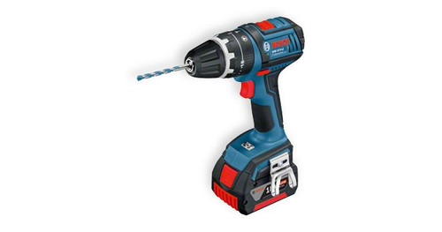 Bosch GSB 18 V-LI professional cordless combis The most important data Battery voltage 	18 V Max. drilling diameter in masonry 	13 mm Max. screw diameter 	8 mm