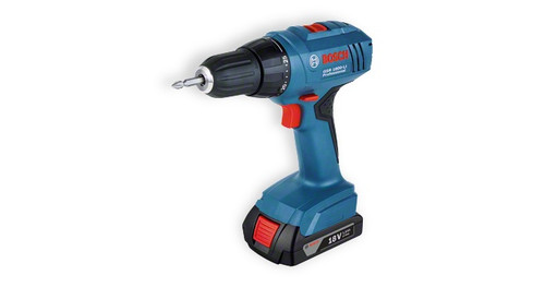 GSR 1800-LI Professional cordless drill/driver The most important data Battery voltage 	18 V Max. screw diameter 	8 mm Max. torque (hard/soft) 	34 / 18 Nm