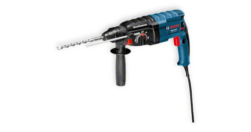 Bosch GHB 2-24 D professional Rotary Hammer with SDS-plus The most important data Rated power input 	790 W Max. impact energy 	2,7 J Drilling diameter in concrete with hammer drill bits 	4 – 24 mm