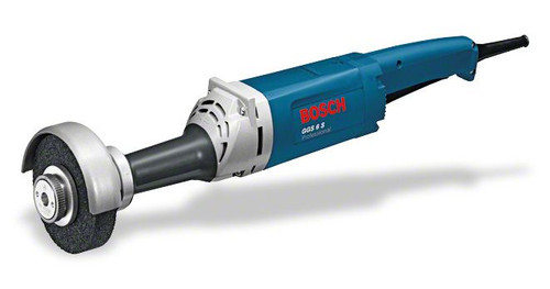 Bosch GGS 6S professional straight grinder The most important data Rated power input 	1.150 W No-load speed 	6.800 rpm Bit holder 	Diameter 20 mm / Spindle M 14