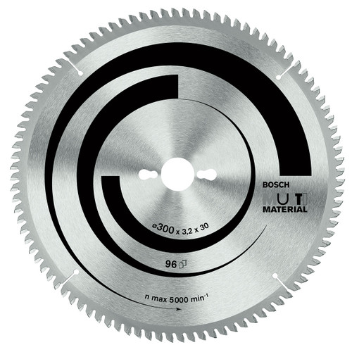 Bosch circular saw blade ecoline multi material 305mm, 96 teeth