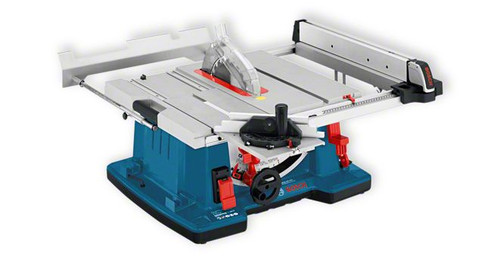 Bosch GTS 10 XC Professional Bench circular saw The most important data Saw blade diameter 	254 mm Incline setting 	47 ° L / 1 ° R Table size 	584 x 759 mm