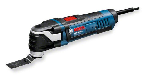 Buy Bosch GOP 300 SCE professional - multi cutter  The most important data Rated power input 	300 W No-load speed 	8.000 – 20.000 rpm Oscillation angle on left and right 	1,4