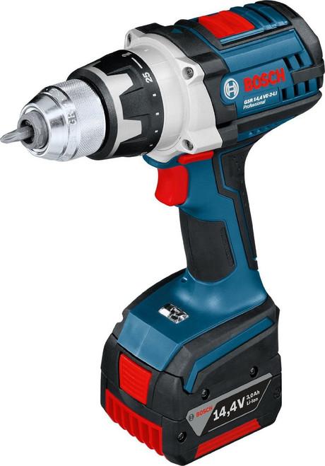 Bosch GSB 14,4 VE-2 LI,2x1.5AH cordless drill