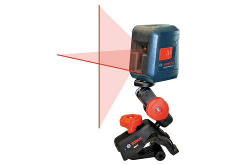 Buy Bosch GLL 2 Self-Leveling Cross-Line Laser online at GZ Industrial Supplies Nigeria Includes (1) -- MM 2 Flexible Mounting Device (2) -- AA Batteries