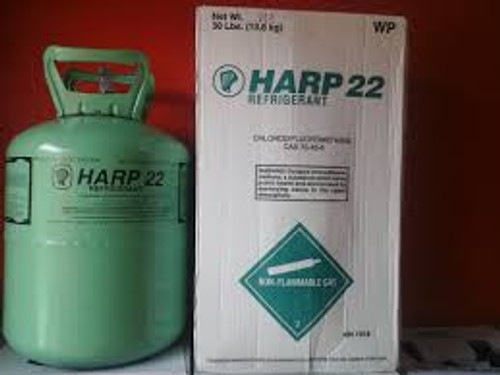 Buy Harp refrigerant Gas R22 online at GZ Industrial Supplies Nigeria