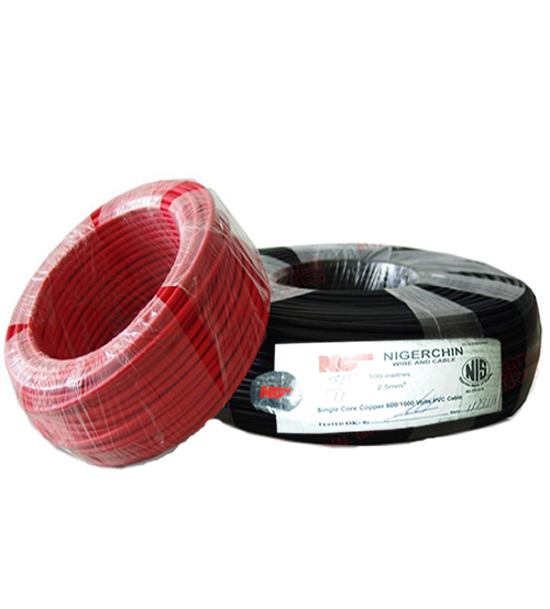 NIGERCHINE SINGLE CORE COPPER WIRE 10MM