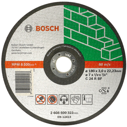 Buy Bosch cutting Disc, C 24 R stone BF pnline at GZ Industrial Supplies Nigeria.