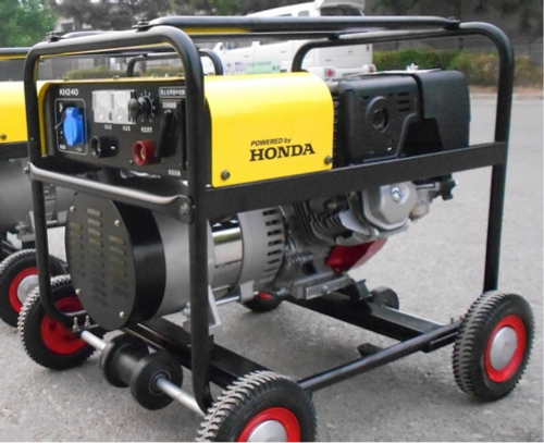 Welding machine with Honda engine petrol-driven Powerflex Brand