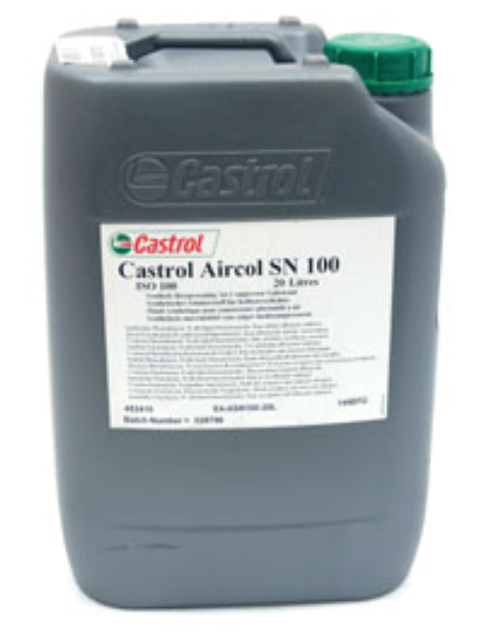 Castrol Aircol SN 100 compressor Lubricant 20 litres