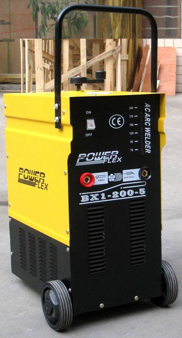 Power flex welding machine 200 amps 2 phase AC Arch welder