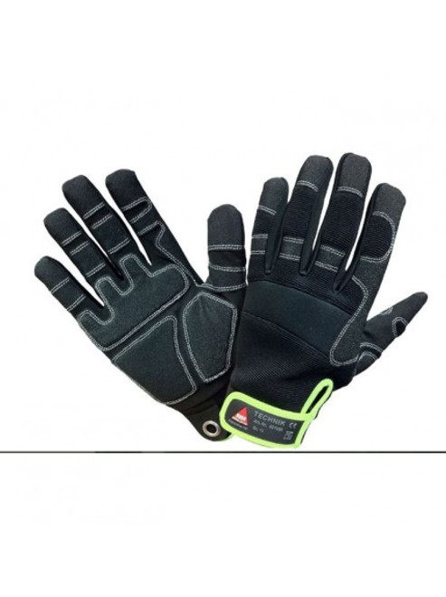 Safety Hand glove Technik 5-fingers Hase Safety work wear
