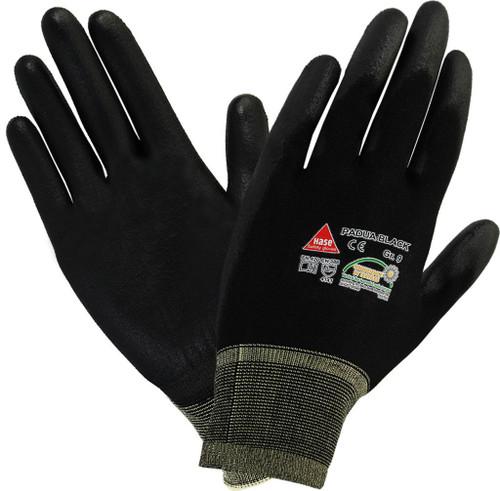 safety hand glove Padua black Hase safety work wear