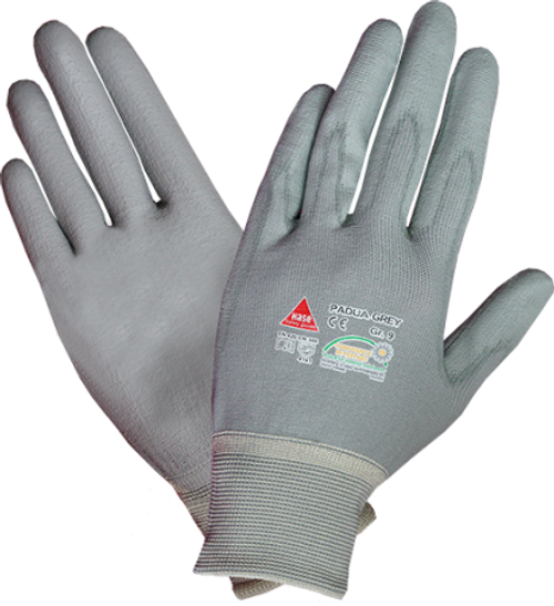 Safety hand glove Padua grey Hase safety work wear