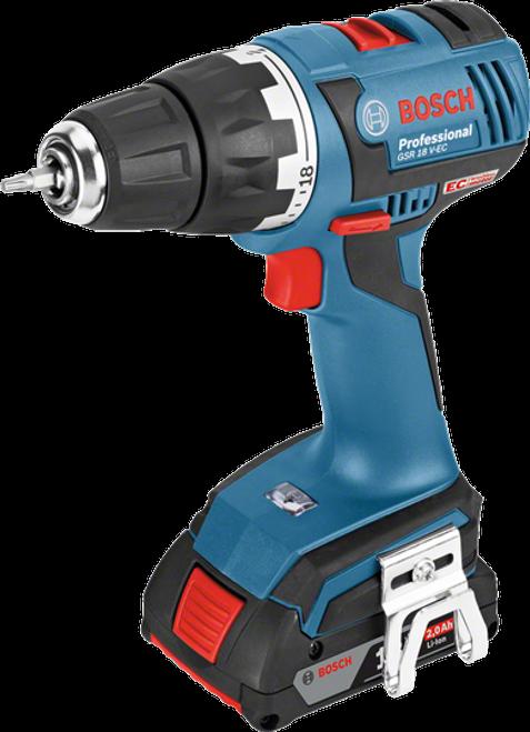 Bosch GSR 18 V-EC Cordless Drilling/Driver Machine