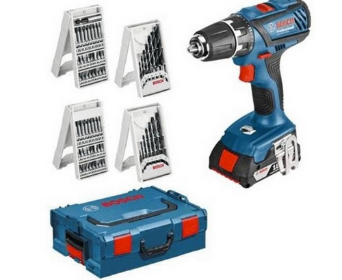 Bosch GSR 18 2 Li Plus Cordless Drill /Driver plus 36 pce accessories