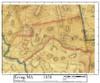 Set of 12 same size Historical Maps - Erving MA Old Map