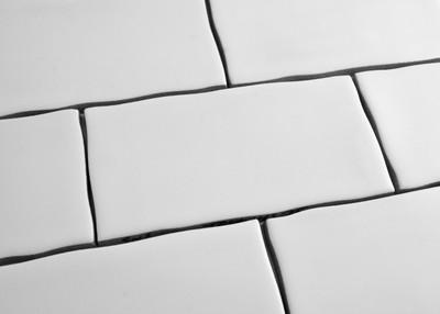 White Gloss Subway Wall Tile