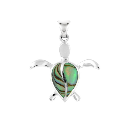 Sterling silver abalone petro honu pendant royal hawaiian sterling silver abalone petro honu pendant sm aloadofball Image collections