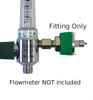 Male Quick Disconnect Fitting for Flowmeters