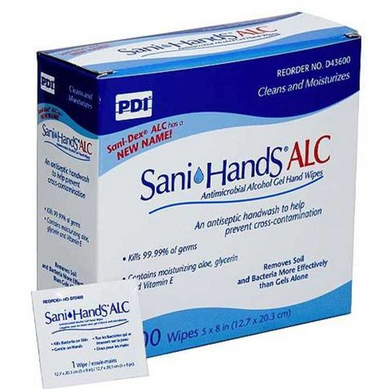 Sani-Hands ALC Individual Packets 100/Bx