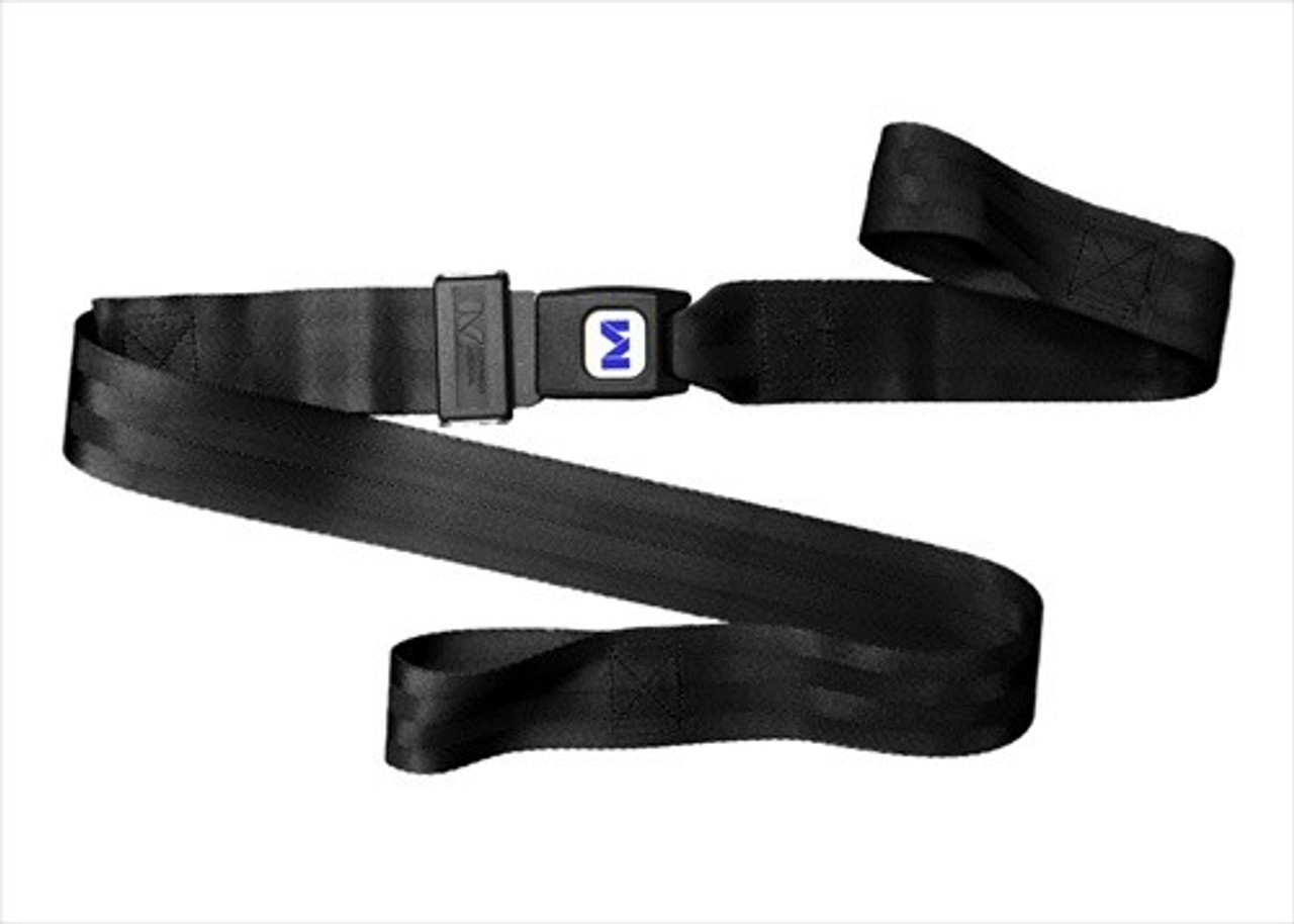 7 Foot  - 2 Piece Nylon Stretcher/Backboard Strap with Metal Buckle