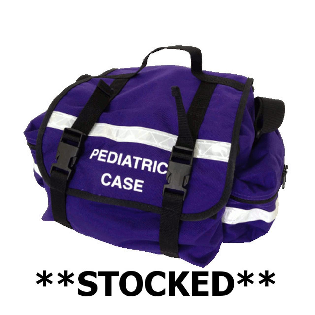 Stocked - Purple Pediatric Equipment Bag