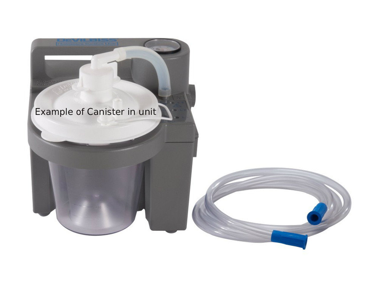 """""""New"""" 800cc Suction Canister System by Devilbiss"""
