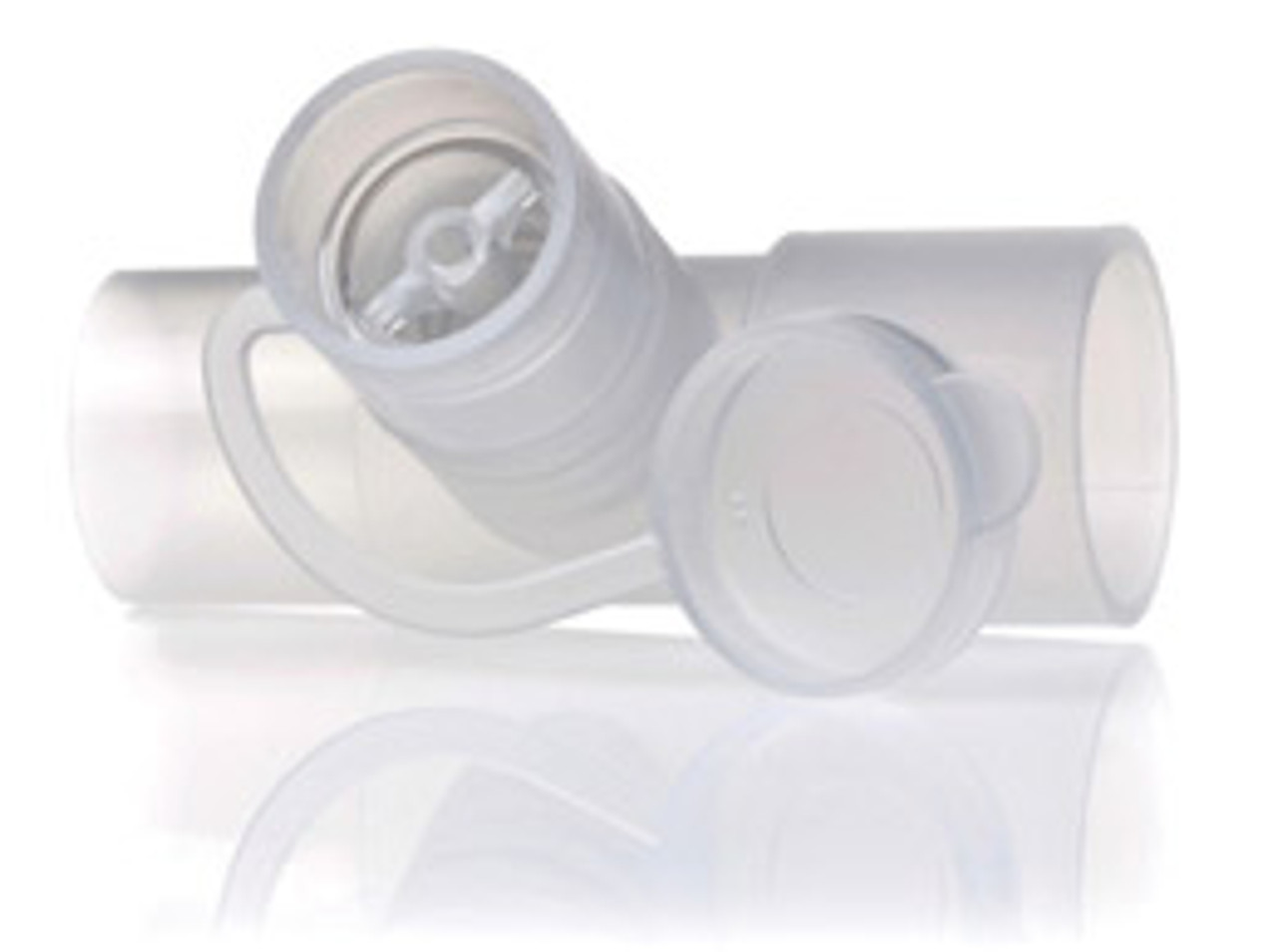 Nebulizer 'T' Adapter with Valve for CPAP