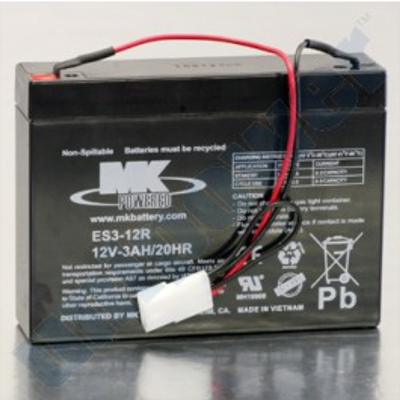 Replacement Battery for SSCORT VX2 Suction Unit