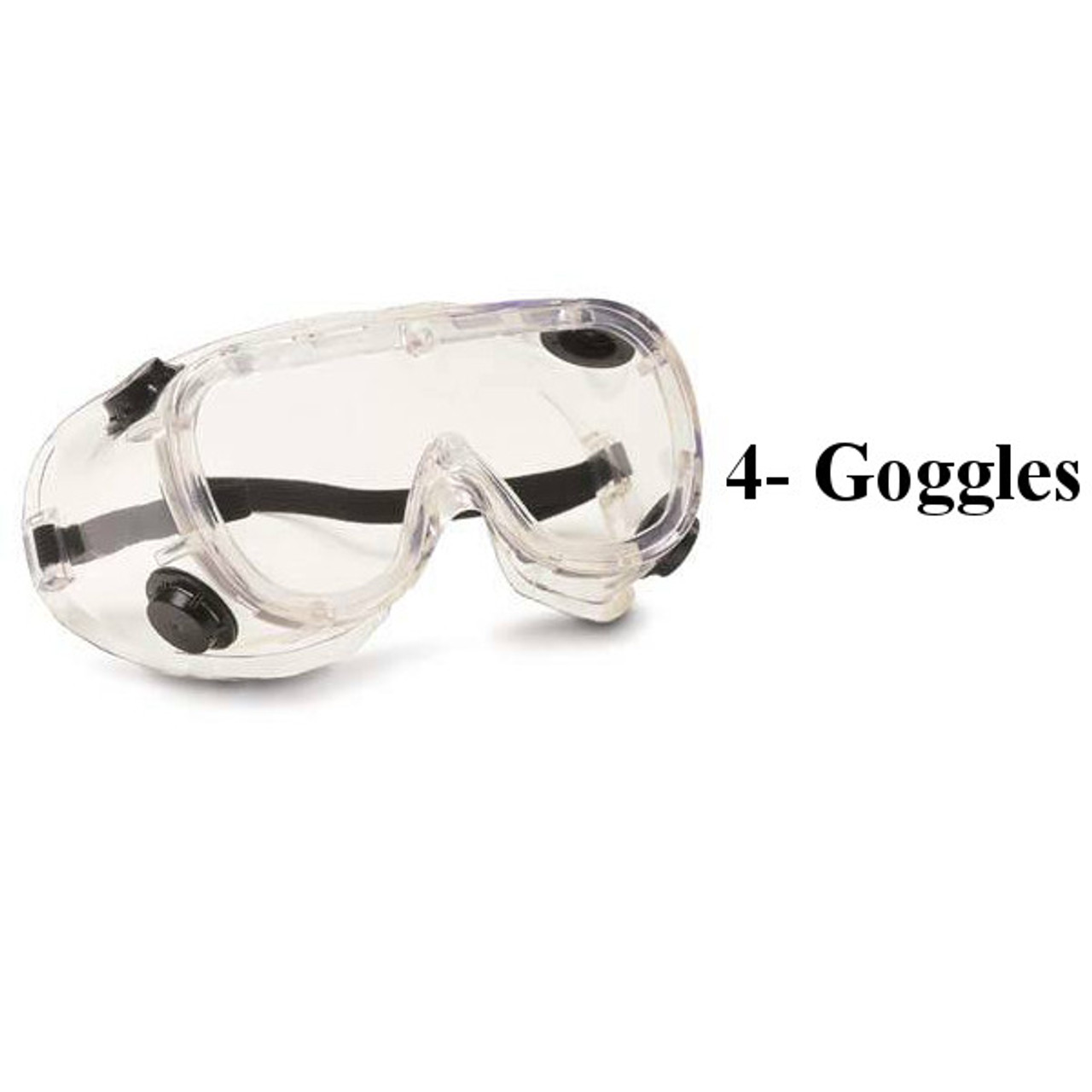 Goggles with Indirect Vents