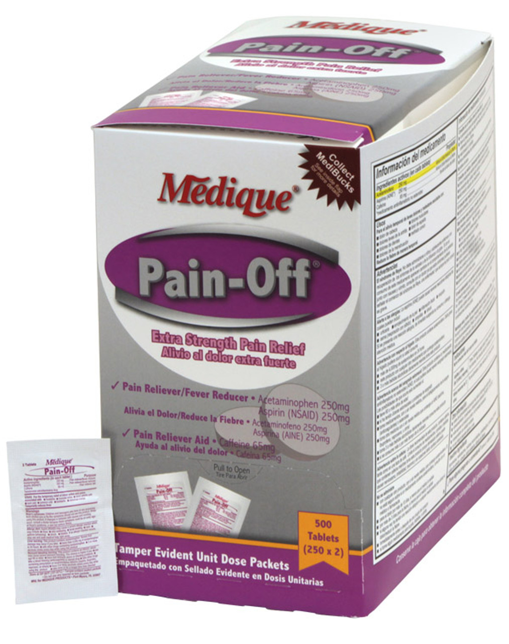 Pain-Off (Extra Strength Pain Relief) Tablets - Unit Dose 200/Bx