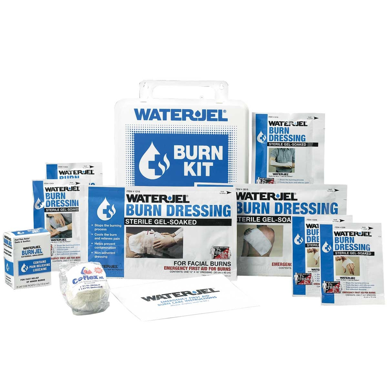 Industrial/Welding Burn Kit by Water-Jel