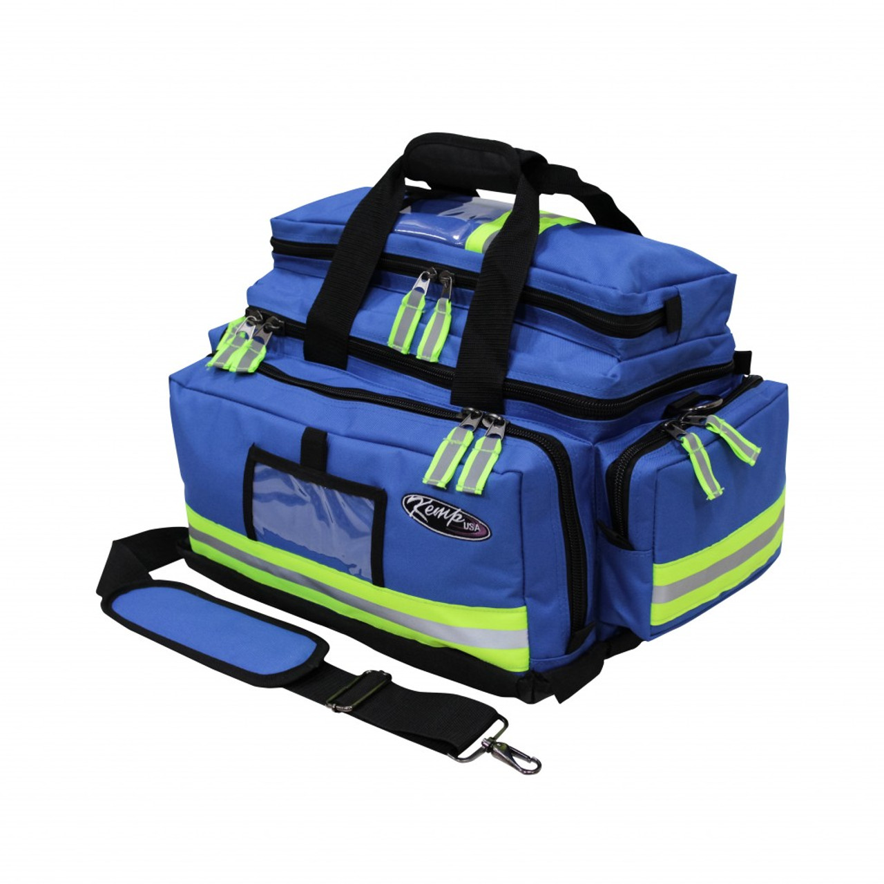 Large Professional Trauma Bag - Royal Blue