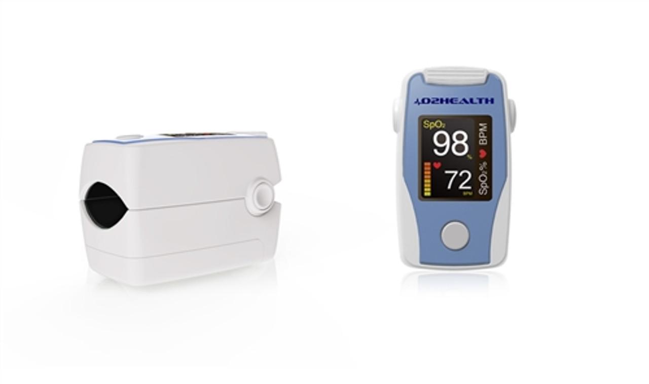 DB-11 Fingertip Pulse Oximeter with Bi-Directional Color Display