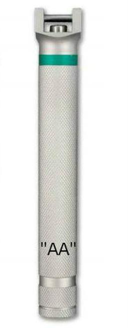 Green-Line Stainless Steel Fiberoptic Laryngoscope Handles by Sunmed